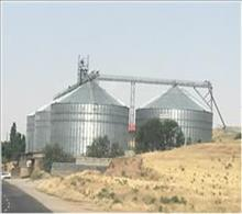 4 × 6300 tons silos Flour mill of Hashtrood-Iran