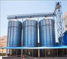 3×500 tons silos in Saghez -Iran
